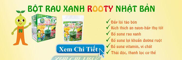 Bot Rau Xanh Aojjru Nhat Ban
