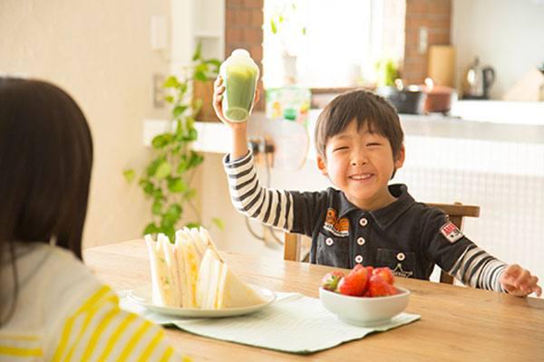 Đối tượng sử dụng aojiru nhiều nhất là trẻ em