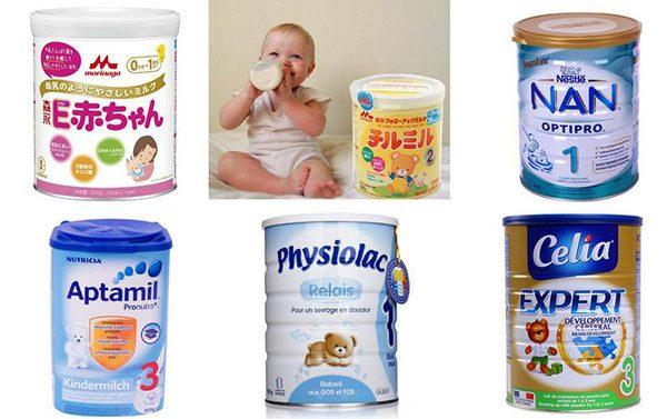 Sữa dành cho trẻ táo bón 3