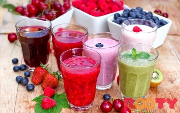 trẻ rối loạn tiêu hóa nên ăn gì và hoa quả sinh tố