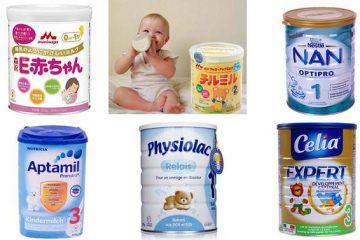 Tư vấn cách chọn sữa dành cho trẻ bị táo bón